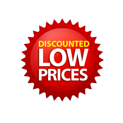 Discounted Low Price