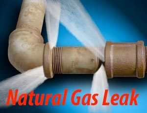 natural gas leak repair